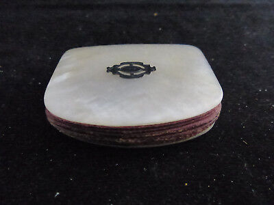 Antique Mother Of Pearl Wallet, Coin Purse