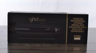 GHD Gold Professional Hair Straightener Styler 1 Inch Flat Iron Ceramic Black