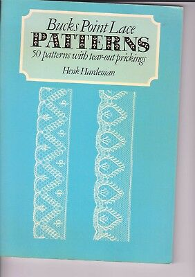 Bucks Point 50 Patterns  With Tear Out Prickings Lace  Book