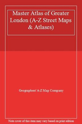 Master Atlas of Greater London (Street Maps & Atlases)-Geographers' A-Z Map Com