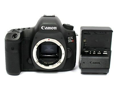 Canon EOS 5DS R 50.6MP Digital SLR Camera - Black w/ Canon Charger and Battery