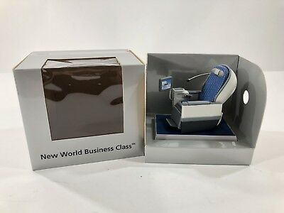 Northwest Airlines New World Business Class Airplane Seat Figure Statue w/ Box