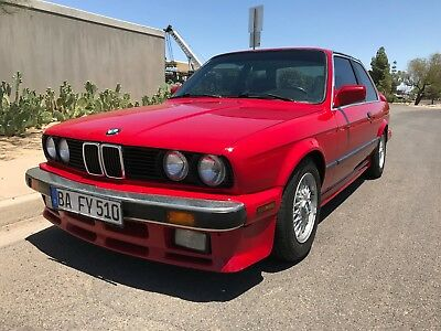 1987 BMW 3-Series 325 IS RARE 325IS 5 SPEED NEW TOP END AC SCHNITZER M3 ADDS AND MORE