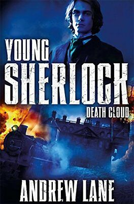 Death Cloud (Young Sherlock Holmes) New Paperback Book Andrew Lane