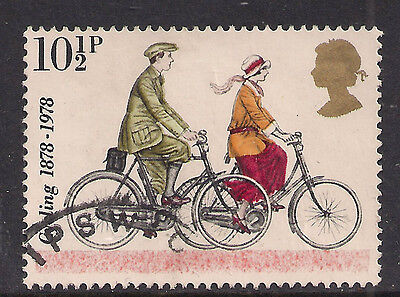 GB 1978 QE2 10 1/2p Cent. Of Cyclists SG 1068 (M848 )