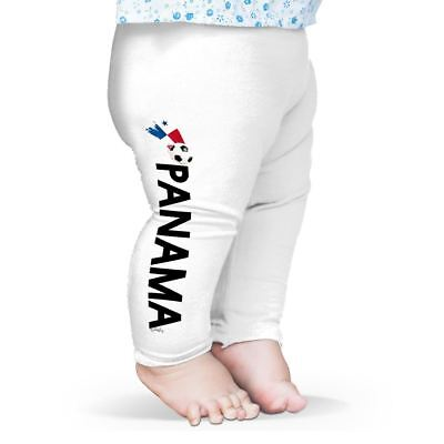 Baby Pants Panama Football Soccer Flag Paint Splat Baby Leggings Pants