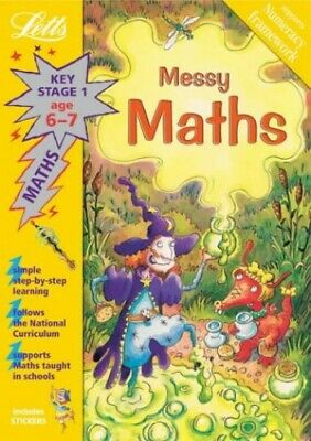 Messy Maths Age 6-7 (Letts Magical Topics) by Ruben, Barbara Paperback Book The