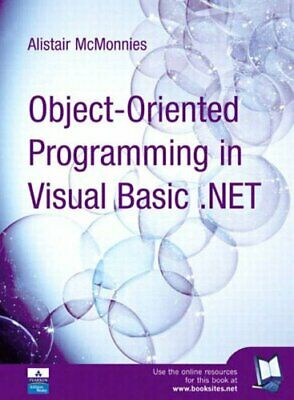 Object Oriented Programming in Vb.Net by Alistair McMonnies Paperback Book The