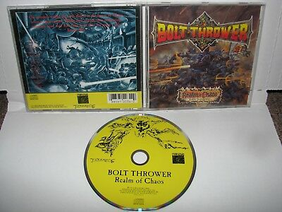 Bolt Thrower - realm of chaos CD ORIGINAL RELATIVITY 1989