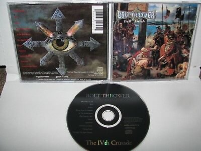 Bolt Thrower - the IVth crusade CD ORIGINAL RELATIVITY 1992