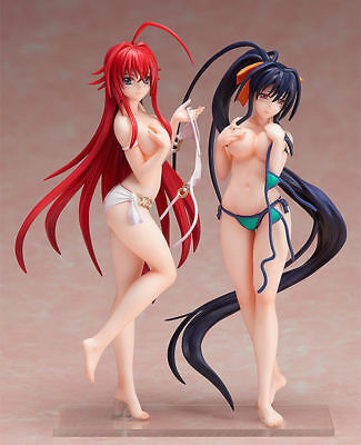 Anime High School DxD BorN Rias Gremory Akeno Himejima Swimsuit Figure NoBox set