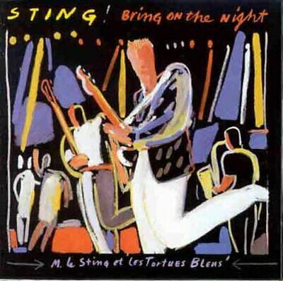 Sting - Bring on the Night - Sting CD 8YVG The Cheap Fast Free Post The Cheap