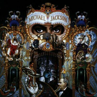 Michael Jackson - Dangerous - Michael Jackson CD 36VG The Cheap Fast Free Post