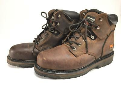 94e75a09b3d Timberland Pro 33034 Pit Boss steel toe work boots mens 10 M