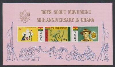 Ghana - 1971, Girl Guides Golden Jubilee sheet - MNH - SG MS611