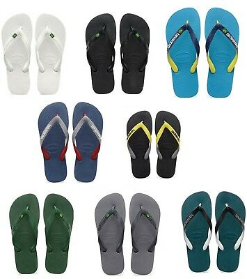 Havaianas Brasil Top Mix Uomo Donna Flip Flop Infradito Ciabatte Tongue Tongs