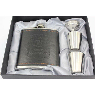 Hot 7oz Stainless Steel Hip Liquor Alcohol Pocket Flask With Portable Funnel
