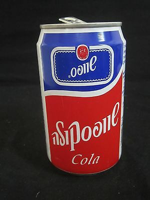 Schweppes  cola   : a 330 ml  empty  can,  israel, 1994