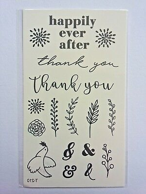HAPPILY EVER AFTER TEMPORARY TRANSFER TATTOOS 110 X 60mm T210