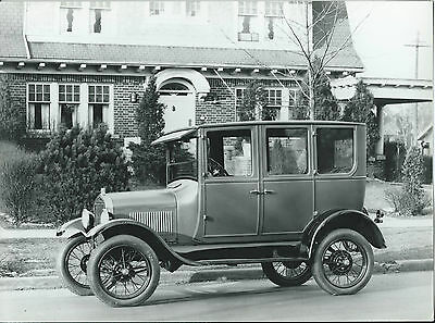 Ford 1927 Fordor Fourdoor Sedan Old Photograph Excellent Condition