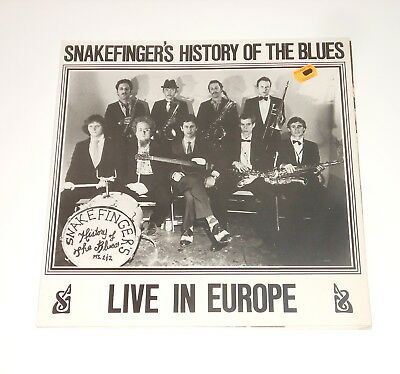 The Residents related - Snakefinger - LP - History Of The Blues - Rough Trade