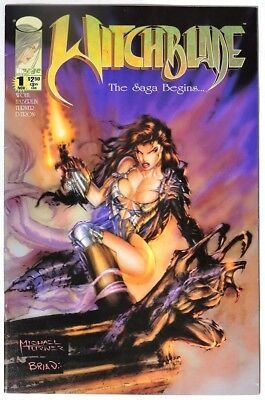 S438 WITCHBLADE #1 Image 7.0 FN/VF (1995) 1st WITCHBLADE Solo Series & 2nd App.`