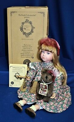 """Boyds Bears & Friends """"Michelle"""" Yesterday's Child Dollstone Collection 4945SF"""