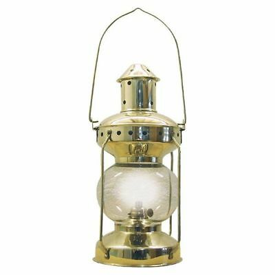 G4033: Maritime Kajütenlaterne, Electric Lamp, Ship Lantern Polished Brass