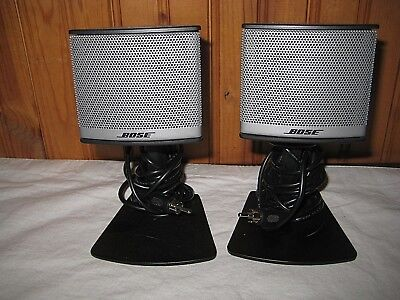 Two Bose Companion 3 Series II Multimedia Computer Speakers