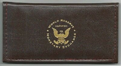 """USA 2003 TWO DOLLARS BANKNOTE """"UNC"""" w. WALLET & COA  """"GREAT GIFT"""" FREE USA SHIP"""