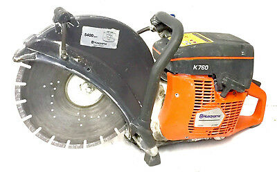 """Husqvarna Concrete saw Model K760 Gas Powered 14"""" blade LOCAL PICK UP ONLY"""