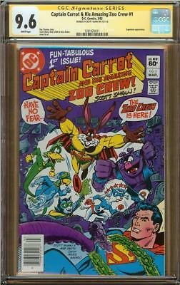 Captain Carrot & His Amazing Zoo Crew #1 CGC 9.6 Signature Series SCOTT SHAW!