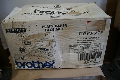 Brother EPPF775 Plain Paper Fax - Refurbished - Damaged/Worn Box