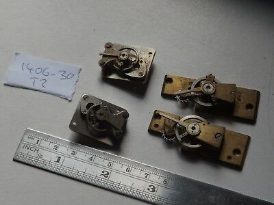 4 Good Vintage Platform Escapement For A Clockmaker