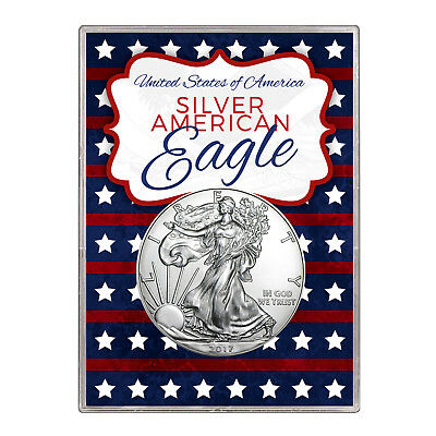 2017 $1 American Silver Eagle Gift Holder – Stars and Stripes Design
