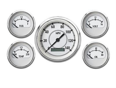 Cal Custom Heritage Series Analog Gauge Kit 223351403
