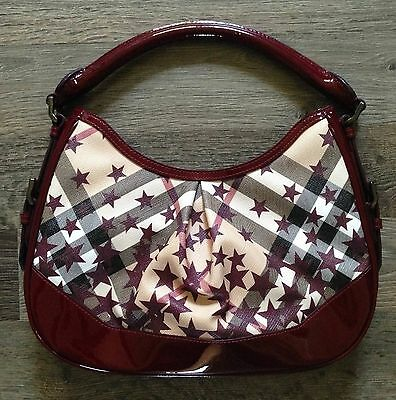 AUTHENTIC BURBERRY STARS limited edition hobo -  285.00  4b35980f72b6d