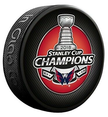 Washington Capitals 2018 Stanley Cup Champions Puck by Inglasco