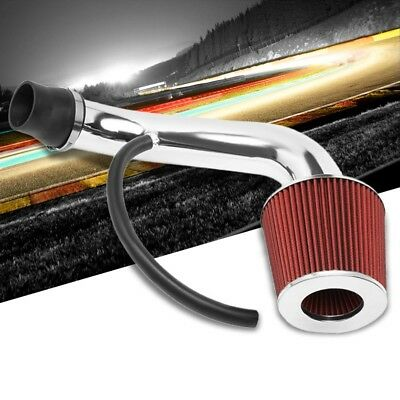 Shortram Air Intake//Pink Top Red Cone Filter For Honda 96-00 Civic EX//HX EJ7-8