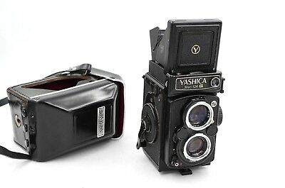 Yashica MAT 124 G Medium Format TLR Film Camera w/ 80mm f/3.5 + Case