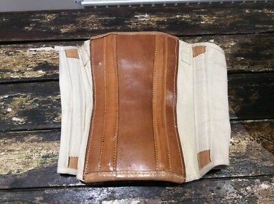 Vintage R. Taylor & Son, Walsall Leather Corset Girdle Basque Support.