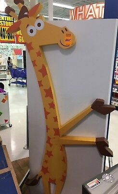 TOYS R US Exclusive 6.5' Tall GEOFFREY Statue/Figurine  (Store Display)