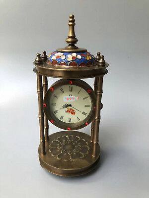 Chinese  Cloisonne Ornamentation Clock Watch