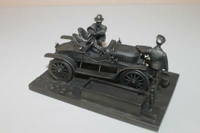 1976 Franklin Mint Fine Pewter The Stanley Steamer Sculpture