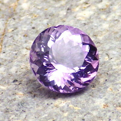 AMETHYST-BRAZIL 2.10Ct FLAWLESS-PRECISION FACETING-FOR TOP JEWELRY!