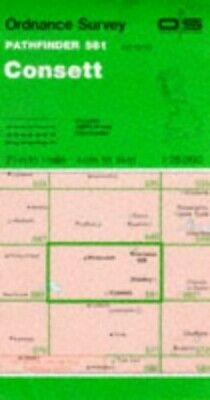 Consett (Pathfinder Maps) by Ordnance Survey Sheet map, folded Book The Cheap