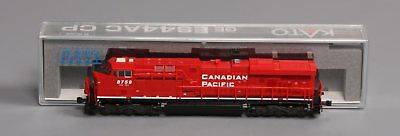 "Kato 176-8921 N Canadian Pacific GE ES44AC ""Gevo"" Powered Diesel #8759 EX/Box"
