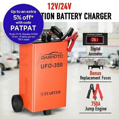 Portable Jump Starter Battery Charger Pack 750A 12v/24v for Car ATV Boat Truck