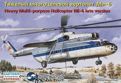 Eastern Express 14508 - 1:144 Mil Mi-6 Russian heavy multipurpose helicopter,lat