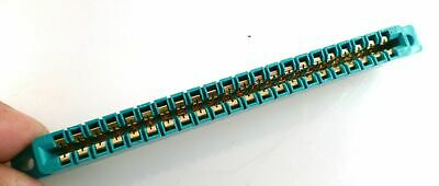 SAE MCC22S/1-2 Gold Edge Connector 22 W Solder Tag .156inch 3.96mm Pitch OM0967O